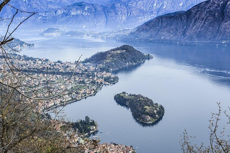 comacina island como lake italy