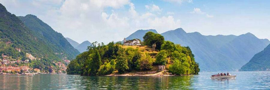 comacina island como lake boat charter
