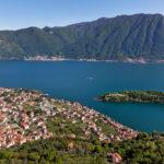comacina Island lake como italy