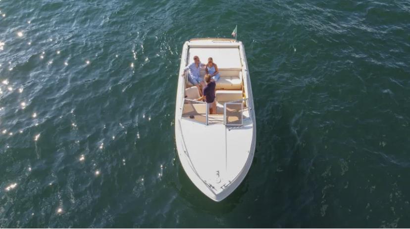 Mostes Offshore 31 Como Lake Boat Tour Breva